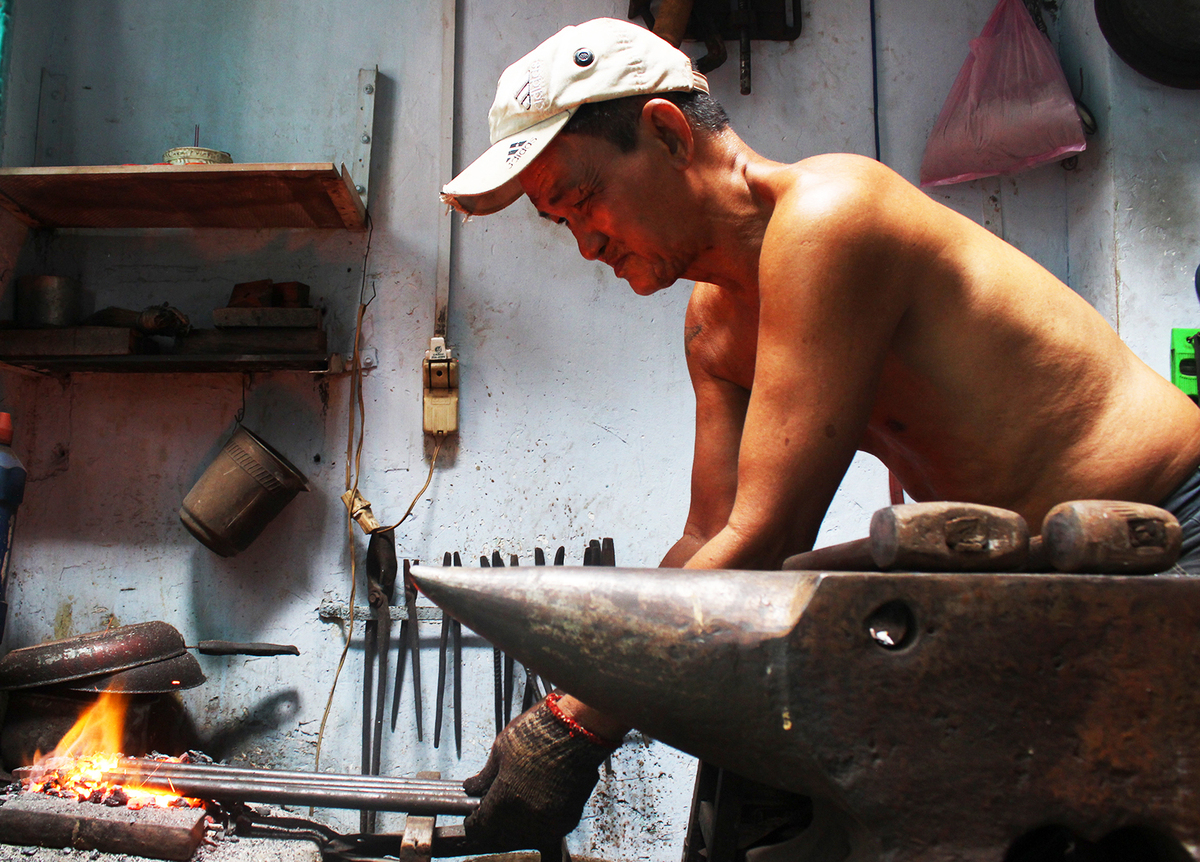 Saigon couple forges ahead after 38 years making sparks fly