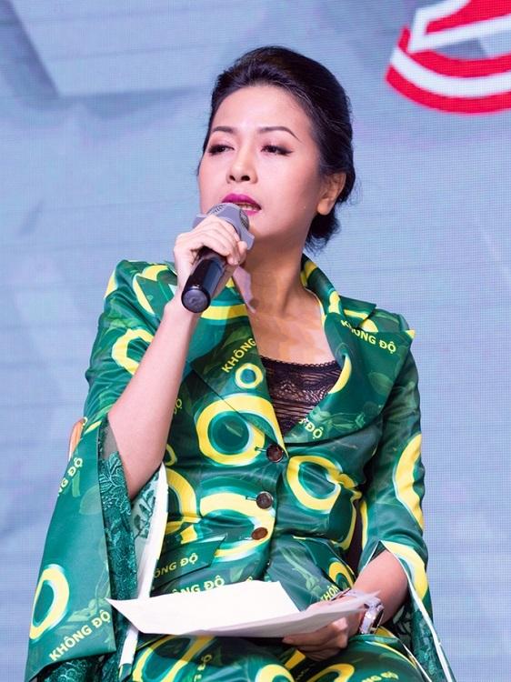 Tran Uyen Phuong,Deputy CEO and board member of Tan Hiep Phat Group.
