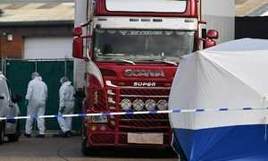Man wanted in Britain over Vietnamese truck deaths 'organized' trafficking