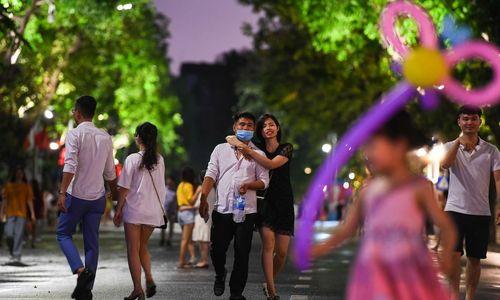 Hanoi pedestrian zone returns to its bustling ways
