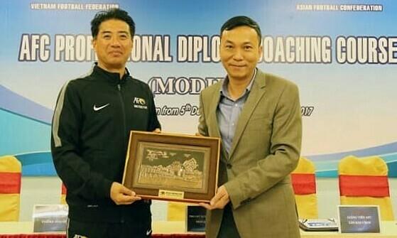 Vietnam football scores Japanese tech director