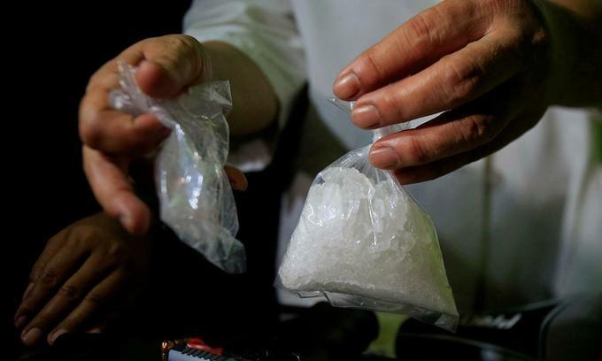 Vietnam sees record surge in crystal meth, ketamine seizures