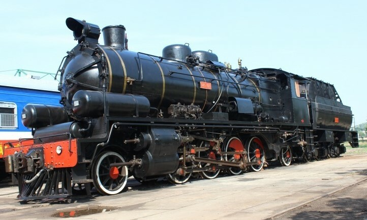 A steam locomotive after completion and ready for operation. Photo by VnExpress/Dong Duong.