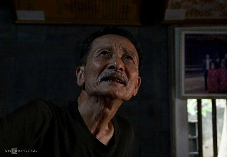Nguyen Ngoc Bich, custodian of Diem Village. Photo by VnExpress/Lam Phuong.