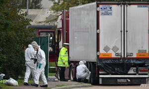 26 people arrested in France and Belgium over truck deaths