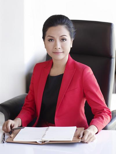 Tran Uyen Phuong, deputy CEO of Tan Hiep Phat, also the eldersdaughterof Tan Hiep Phats founderTran Qui Thanh.
