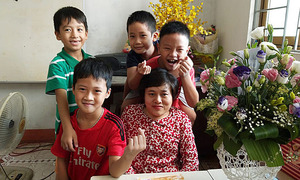 Born with agent orange, Hanoi teacher escapes fate
