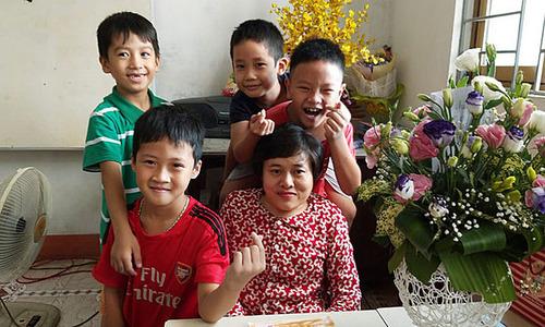 Born with agent orange, Hanoi teacher escapes fate