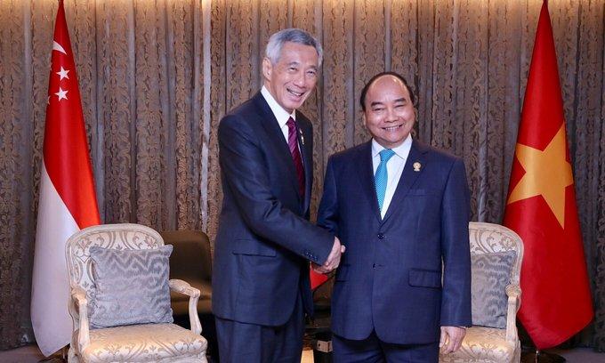 Singapore PM lauds Vietnam's Covid-19 success