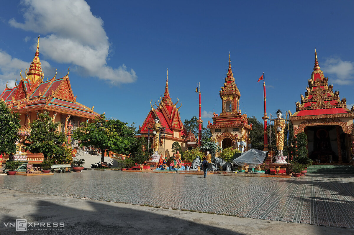 Mekong Delta pagoda preserves Khmer culture