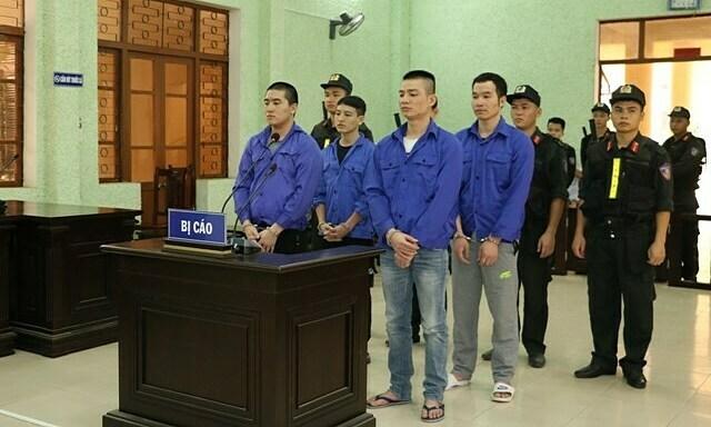 Four get death for drug trafficking in northern Vietnam