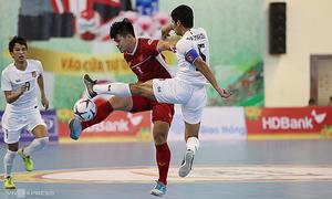 After football, Vietnam futsal returns to action