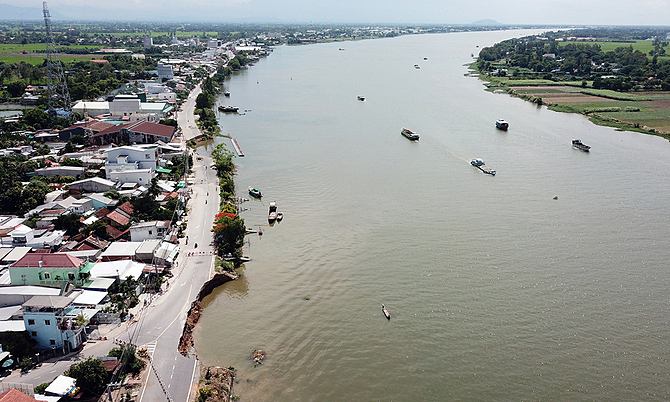 Authorities earmark $3 million to fix Mekong River erosion