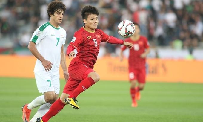 Iraq seeks exhibition match against Vietnam