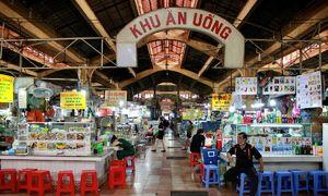Forlorn sans foreigners: Saigon market fails to hustle and bustle