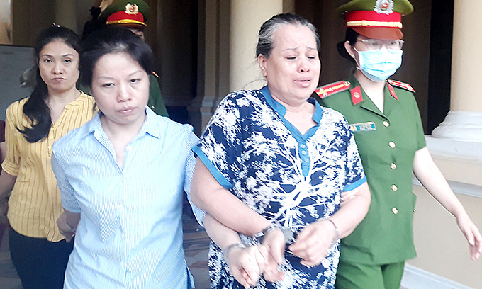 Mother, daughter among five to die for drug trafficking