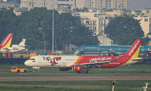 Vietjet plane skidded 650 meters off runway: report