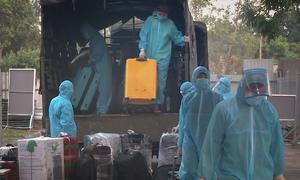 Seven Kuwait returnees add to Vietnam's Covid-19 tally