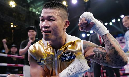 Top Vietnamese boxer turns thespian villain