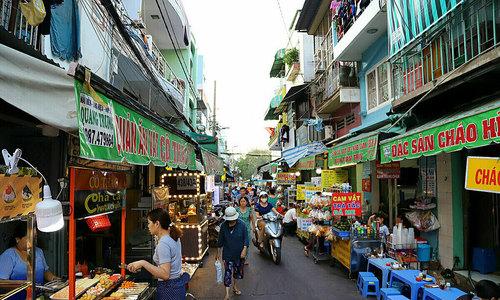 A spot of Cambodia in central Saigon