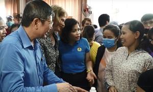 New Zealand embassy opens free supermarket in Hanoi industrial park