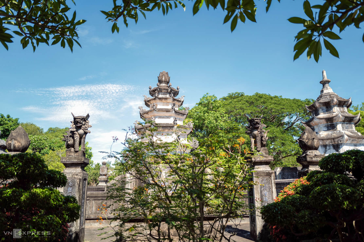 300-year-old pagoda, a major attraction in Binh Dinh