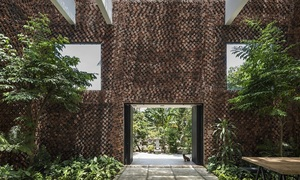 Dong Nai house 'breathes' through its walls