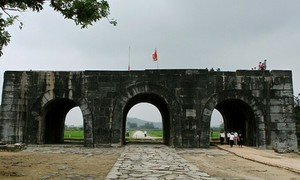 US-funded conservation of Vietnam ancient citadel completed