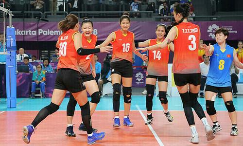 Vietnam volleyball teams descend in world ranking