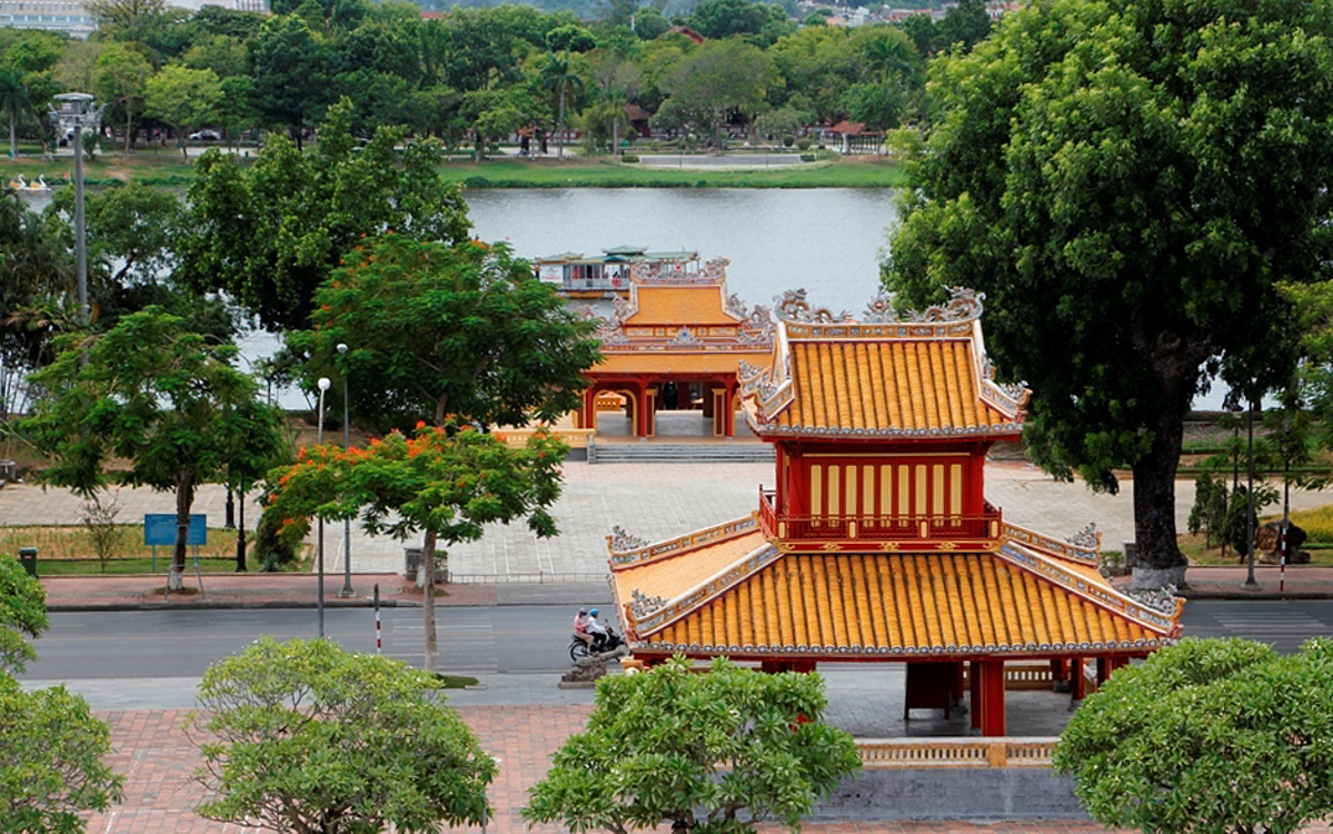 Hue has long been famous for royal tombs and historical sites. Photo by VnExpress/Vo Thanh.