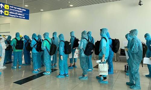270 South Korean experts arrive in Vietnam, quarantined