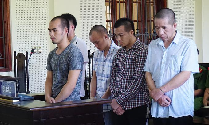 Three Lao men to die for drug trafficking