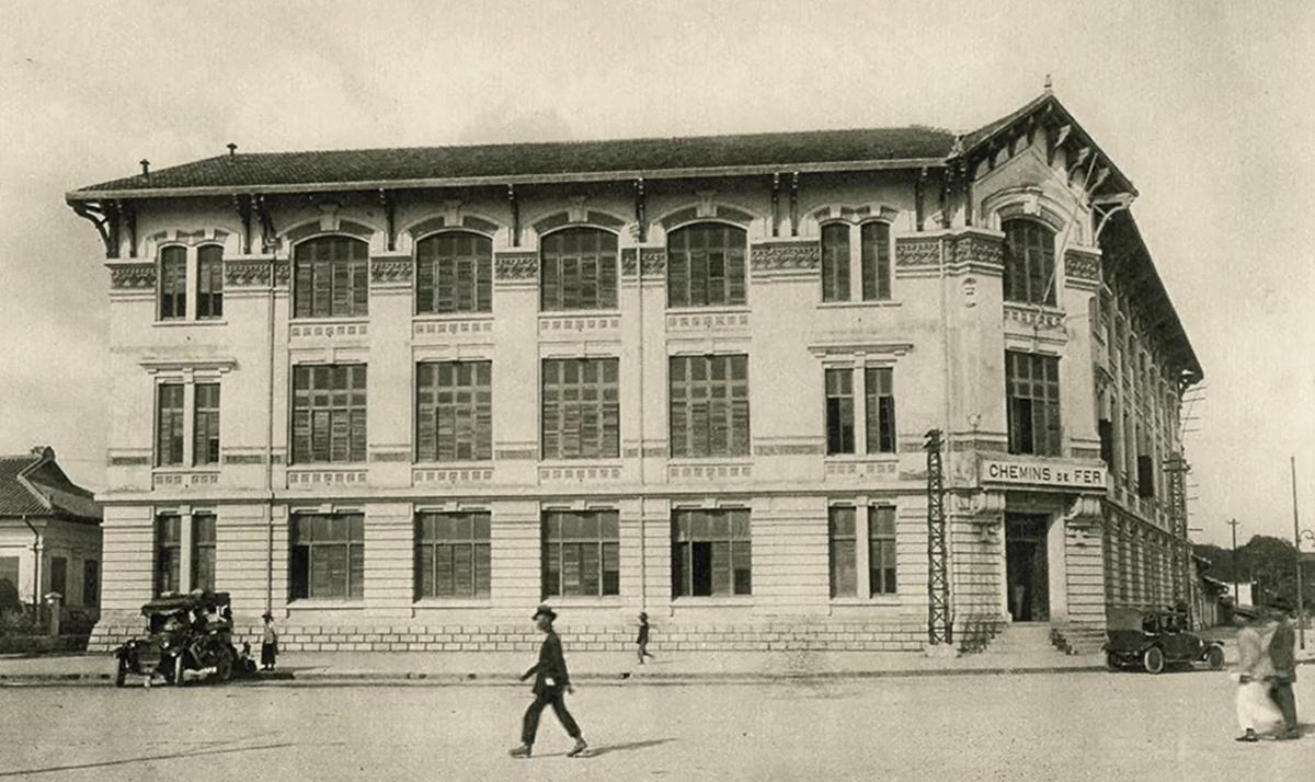 A photograph of the Hoa Xa complex in 1926.