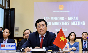 Japan to give Mekong countries $115 mln for Covid-19 fight, sustainable development