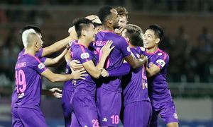 AFC praises Vietnamese club's unbeaten streak