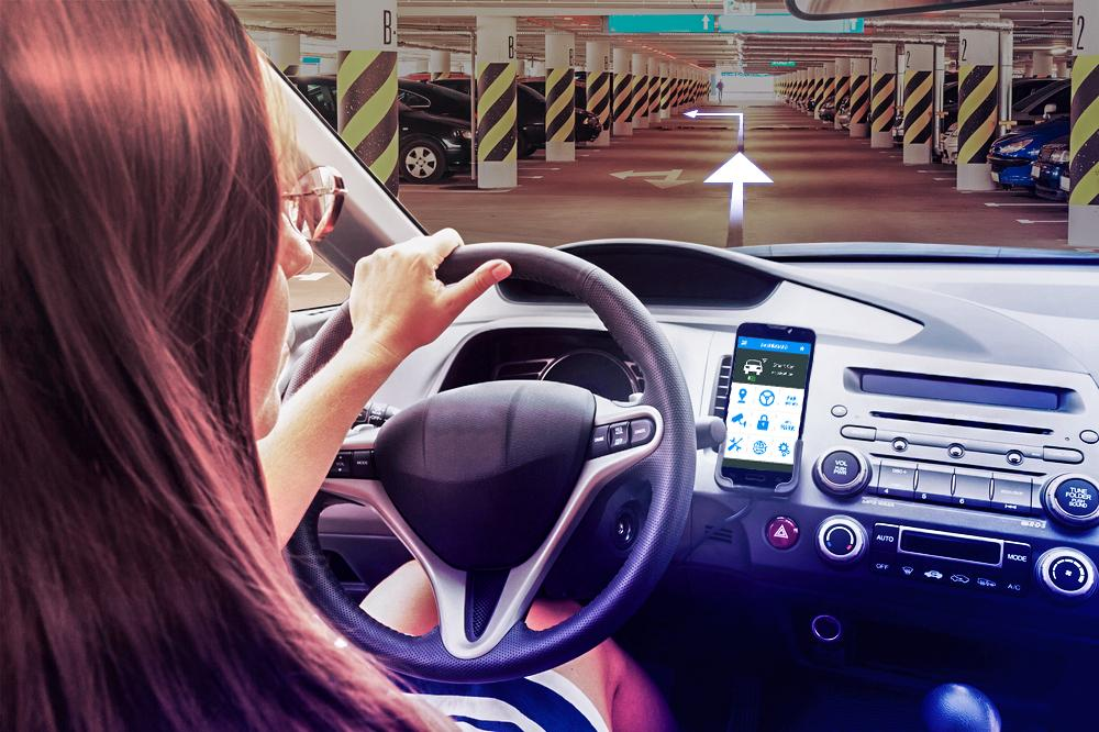 The chore of parking a car is also supported by the Smart Parking system that allows residents to pre-register slots through their mobile application, guiding them to a suitable location to save time.