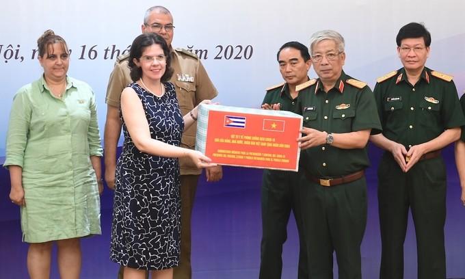 Vietnam aids Cuba's Covid-19 fight