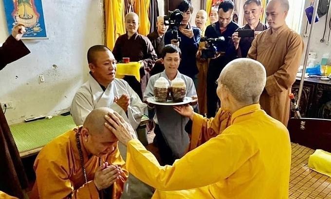 Chairman of steelmaker Hoa Sen takes refuge in Buddhist 'jewels'