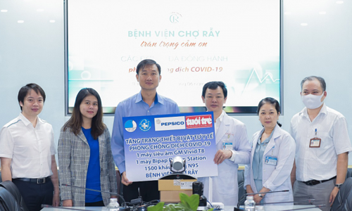 PepsiCo donates medical gear to boost Vietnam's Covid-19 fight