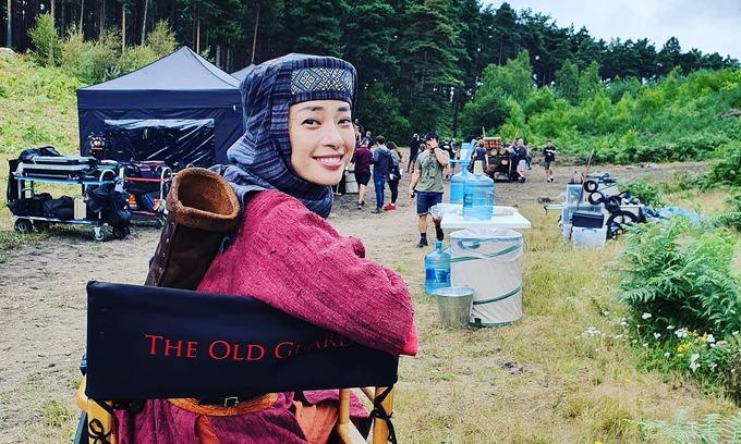 Vietnamese actress soars in IMDb celeb ranking