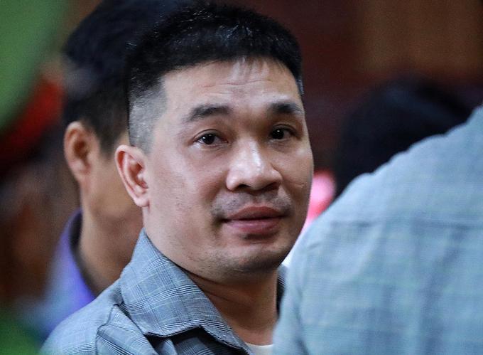 Van Kinh Duong at the HCMC court, July 23, 2020. Photo by VnExpress/Huu Khoa.
