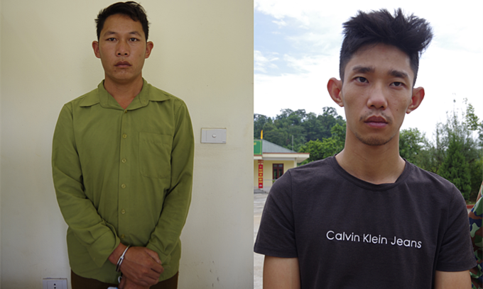 Five Vietnamese men caught for smuggling Chinese