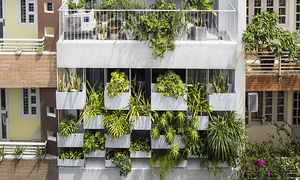 Saigon house takes vertical garden route to keep out baking sun