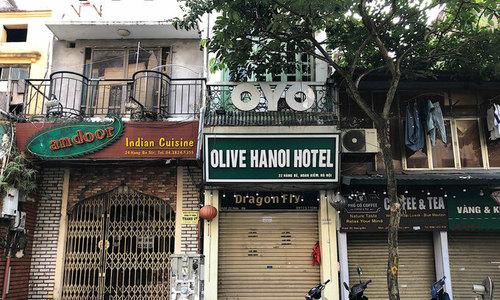 Hanoi's Old Quarter reels under Covid-19 blows
