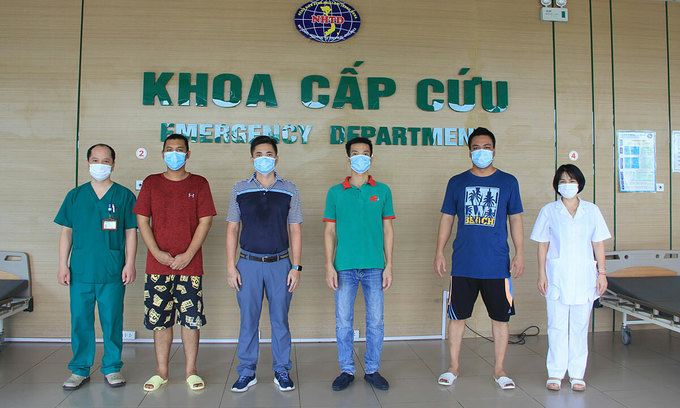 Two Myanmar sailors announced Covid-19 free in Vietnam