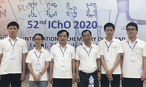 Vietnam scores four-gold record at International Chemistry Olympiad