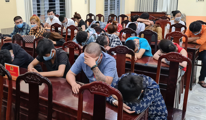 23 caught at Dong Nai drug party