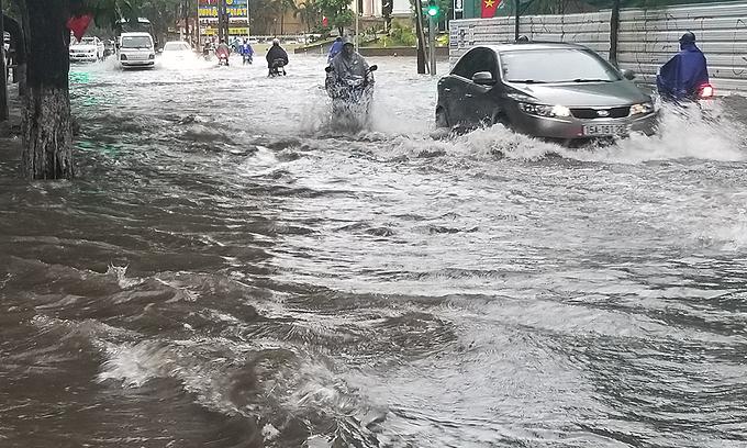 Two killed as heavy rains ravage northern Vietnam