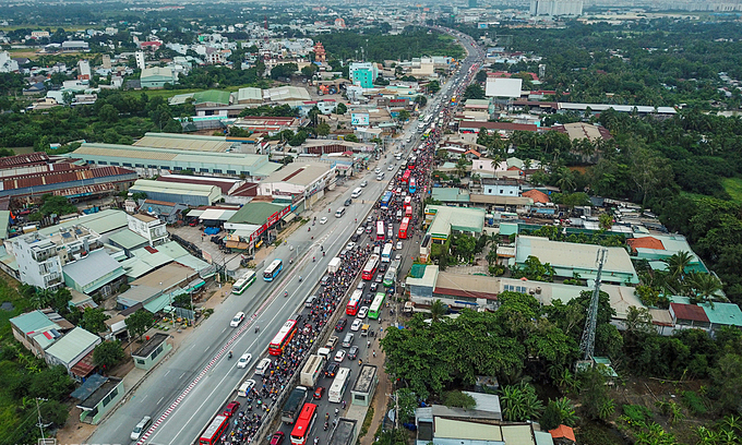 HCMC, neighbor Long An Province to upgrade multiple roads