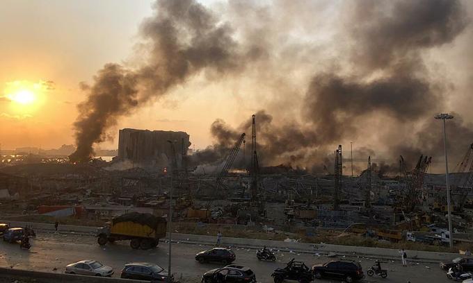 One Vietnamese injured in massive Beirut blast: envoy